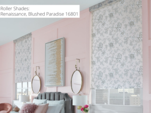 roller_shades_floral_pattern